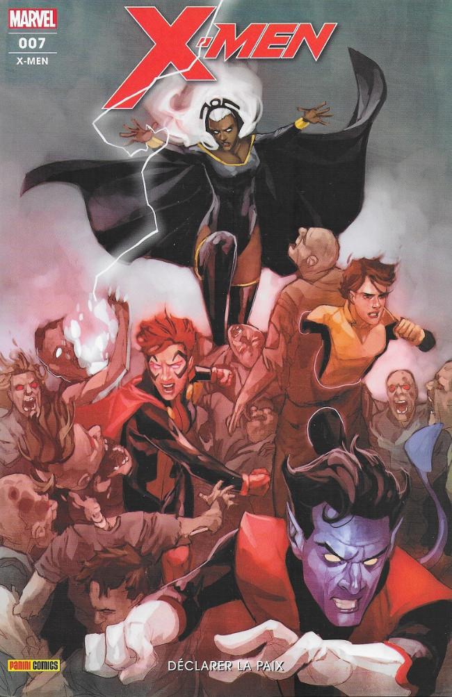 Couverture de X-Men (Marvel France 6e série) -7- Déclarer la paix