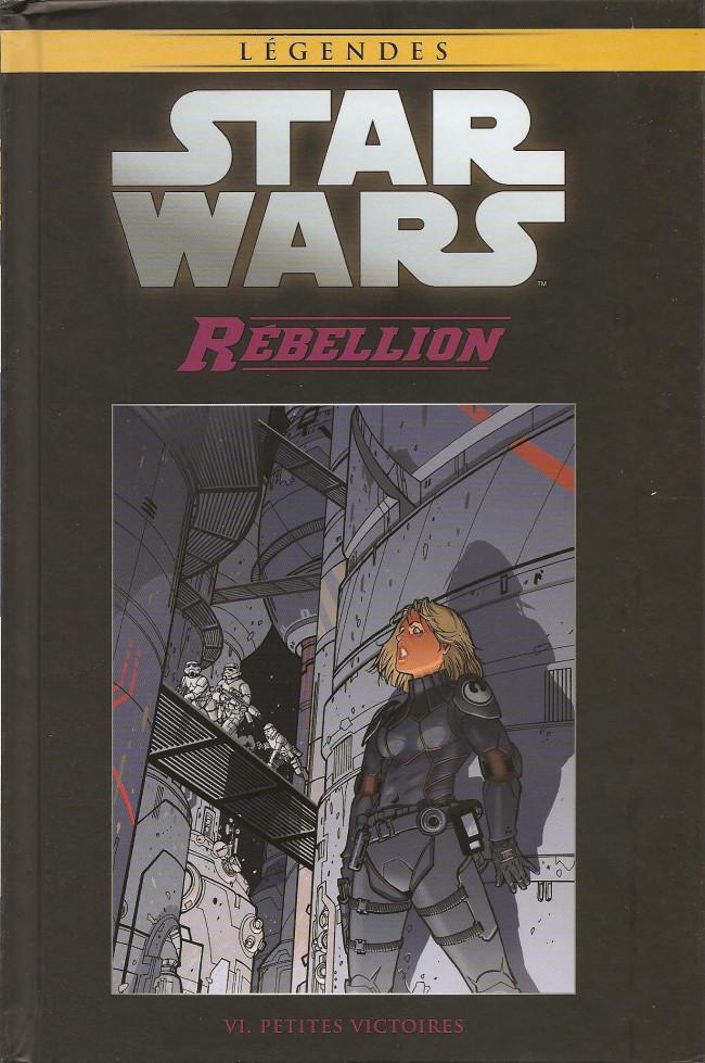 Couverture de Star Wars - Légendes - La Collection (Hachette) -9652- Rébellion - VI. Petites Victoires