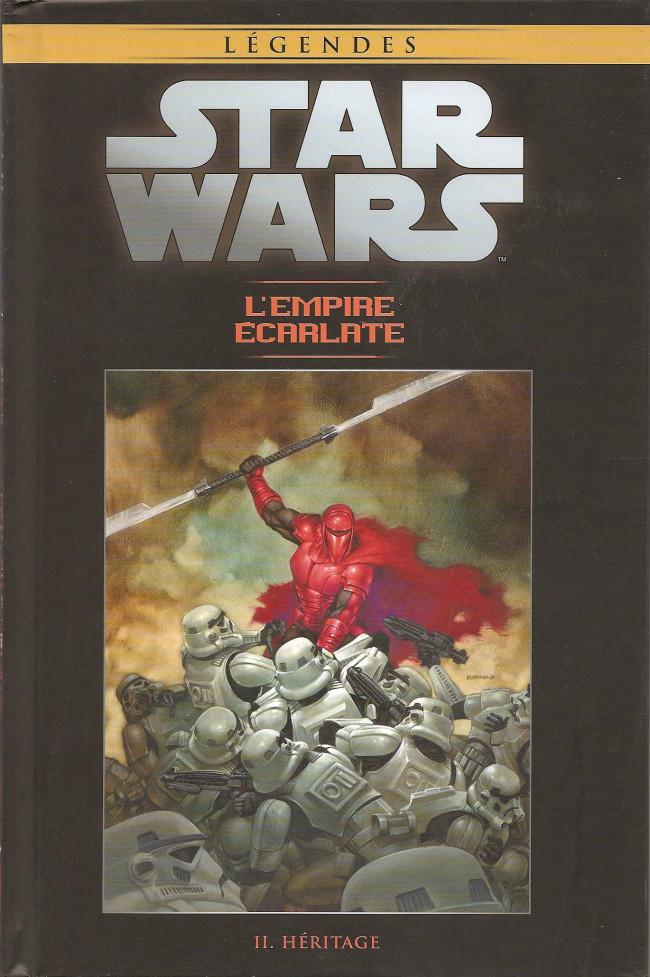 Couverture de Star Wars - Légendes - La Collection (Hachette) -9777- L'Empire Écarlate - II. Héritage