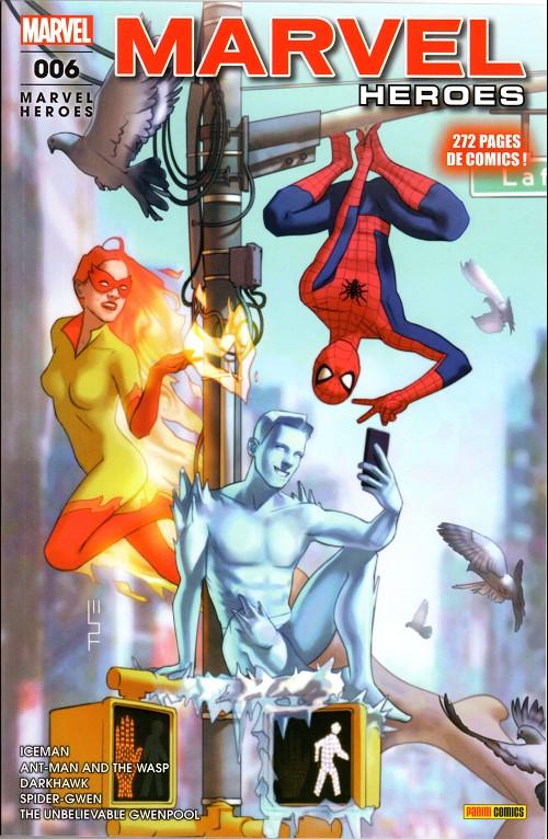 Couverture de Marvel Heroes (Marvel France - 2018) -6- Etonnantes amitiés