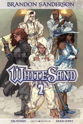 Couverture de White Sand -2- Tome 2