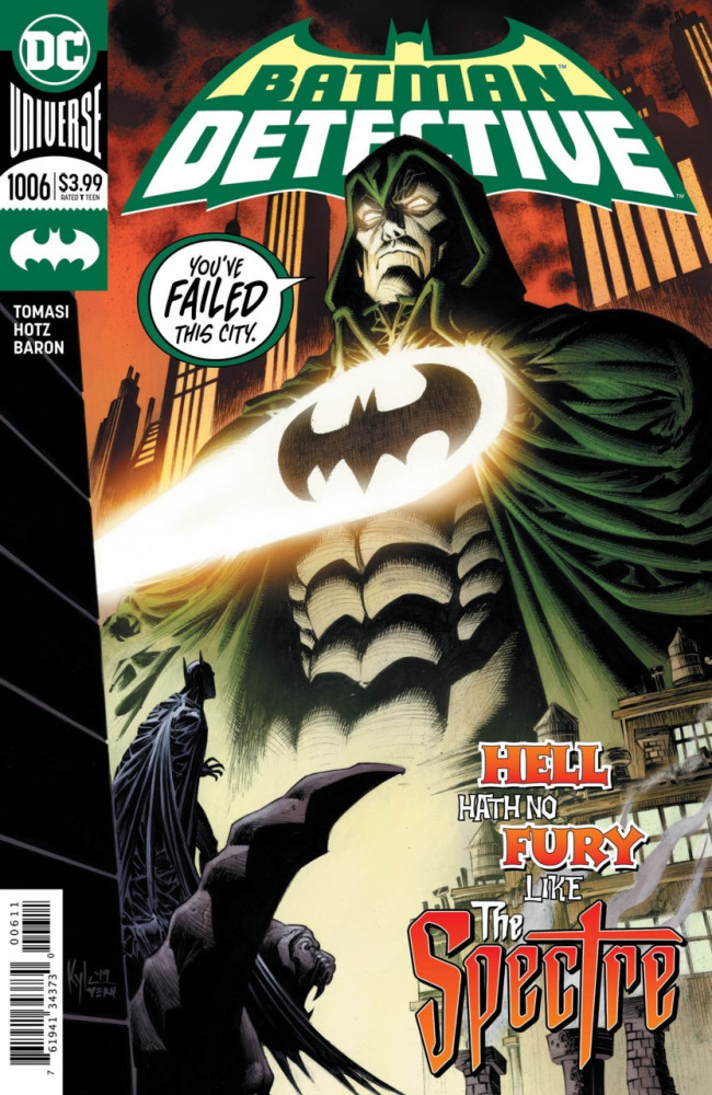 Couverture de Detective Comics (1937), Période Rebirth (2016) -1006- There will be blood