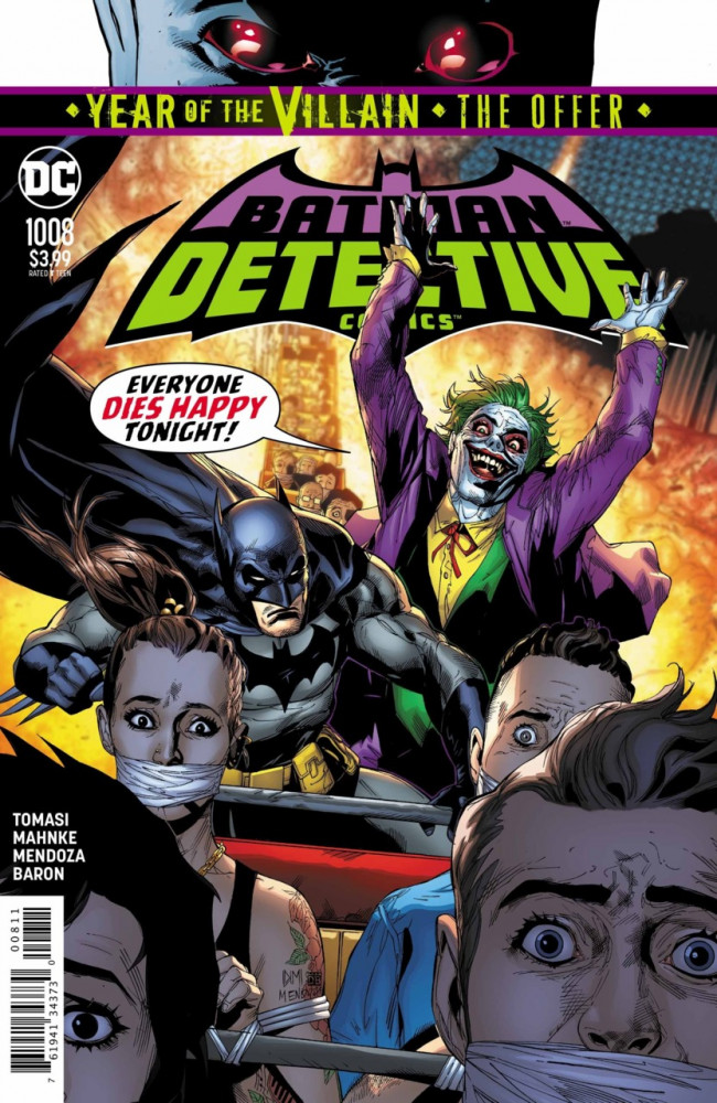Couverture de Detective Comics (1937), Période Rebirth (2016) -1008- Greeting from Gotham