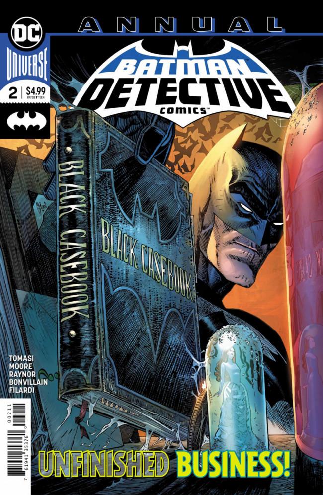 Couverture de Detective Comics (1937), Période Rebirth (2016) -AN02- Adam Raise a Cain