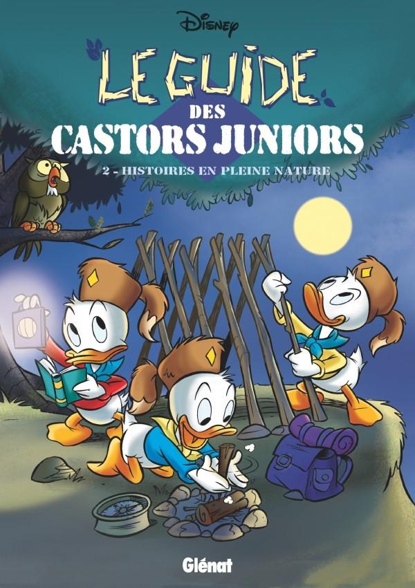 Couverture de Guide des Castors juniors (Glénat) -2- Histoires en pleine nature