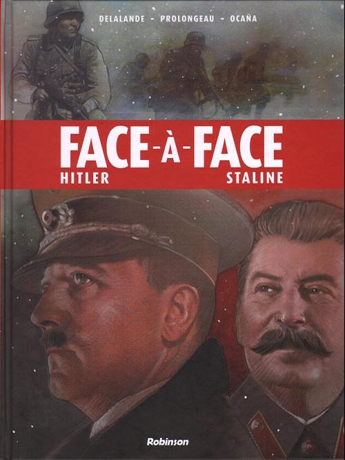 Couverture de Face-à-face -1- Hiltler - Staline