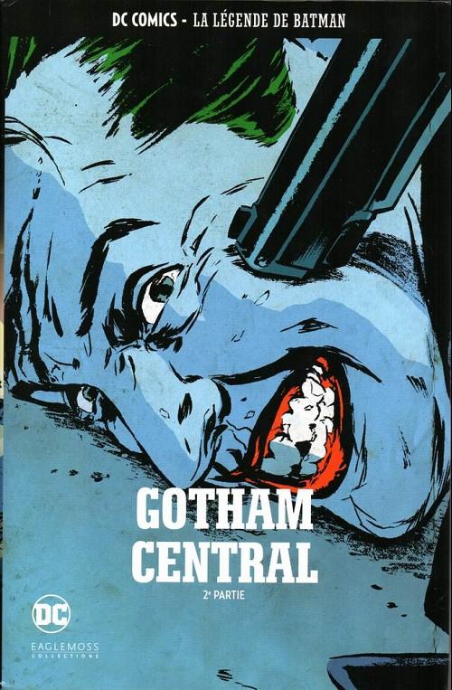 Couverture de DC Comics - La légende de Batman -HS8- Gotham central - 2ème partie