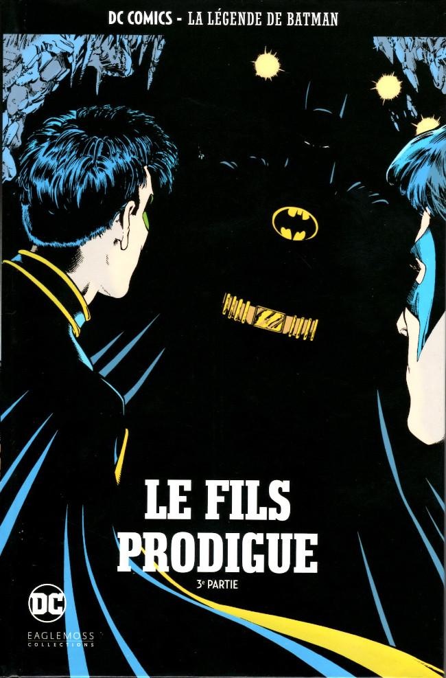Couverture de DC Comics - La légende de Batman -5230- Le fils prodigue - 3e partie
