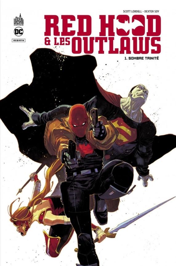 Couverture de Red Hood & les Outlaws -1- Sombre trinité