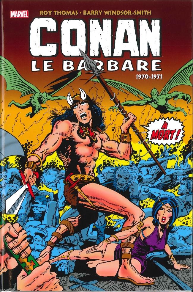 Couverture de Conan le barbare : l'intégrale -1- 1970-1971