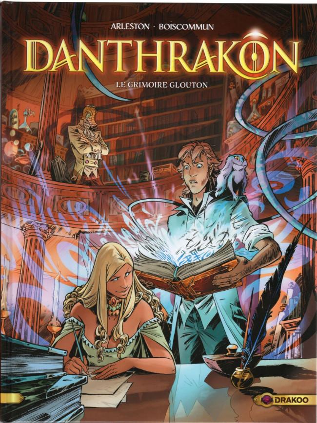 Couverture de Danthrakon -1- Le grimoire glouton