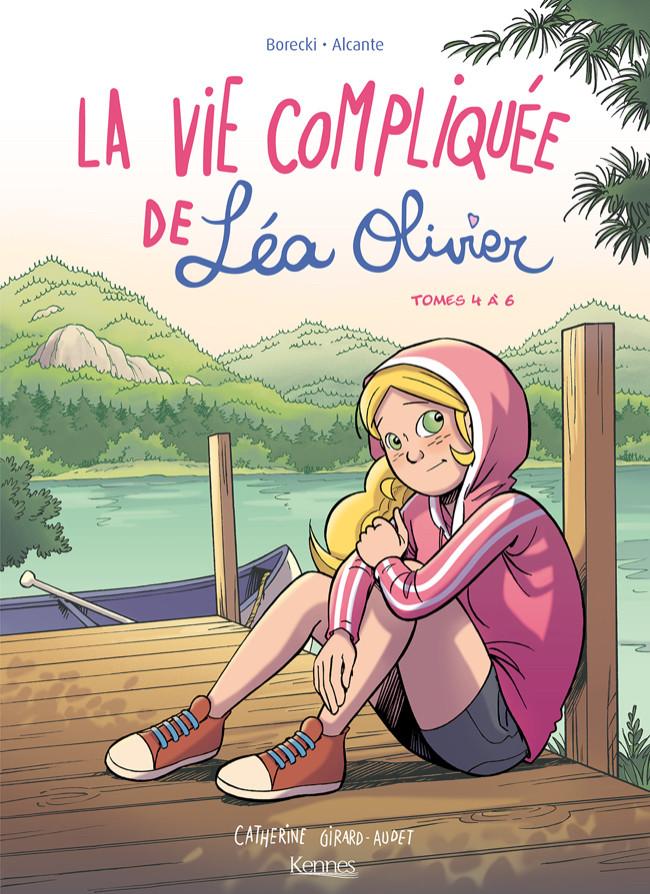 Couverture de La vie compliquée de Léa Olivier -INT2- Tomes 4 à 6