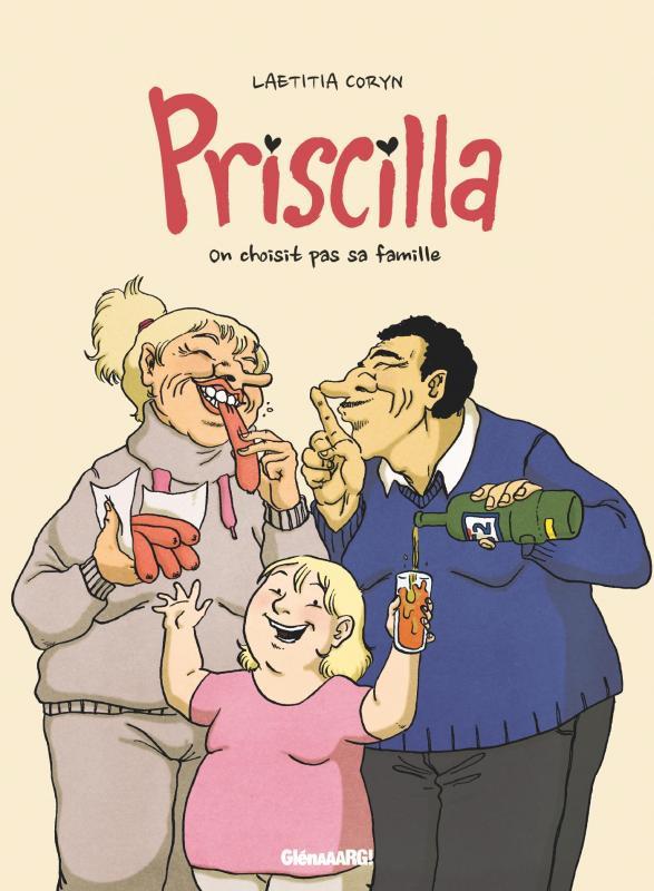 Couverture de Priscilla (Coryn) - On choisit pas sa famille
