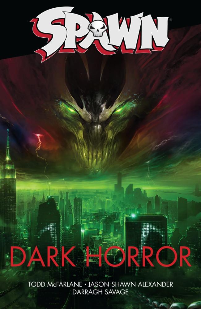 Couverture de Spawn (1992) -INT- Spawn: Dark horror