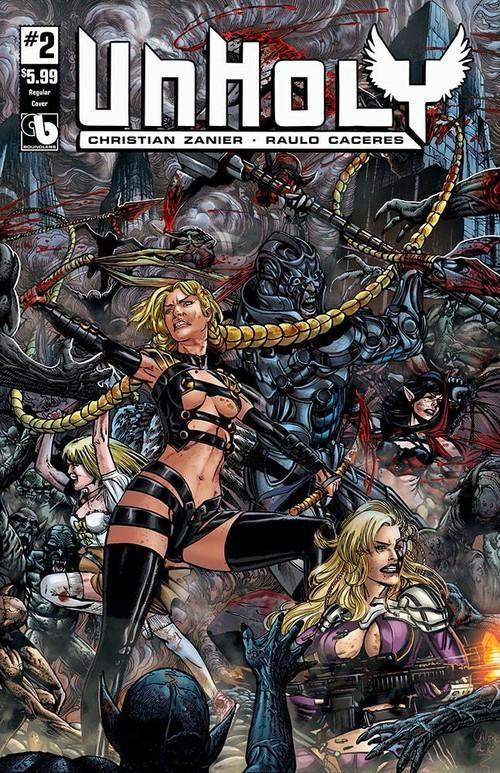 Couverture de Unholy -2- Issue 2