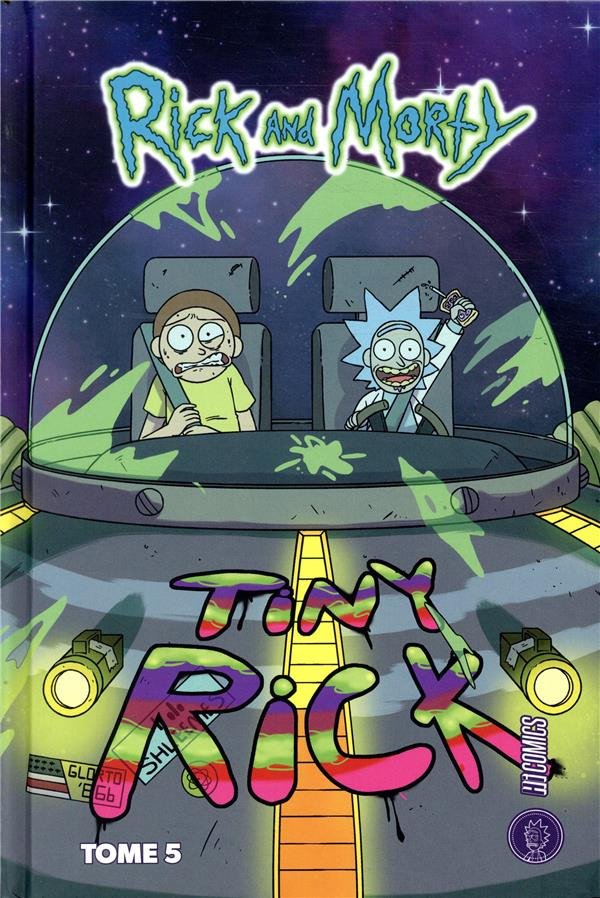 Couverture de Rick and Morty -5- Tome 5