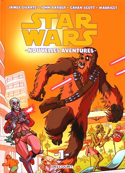 Couverture de Star wars - Nouvelles aventures -1- Tome 1