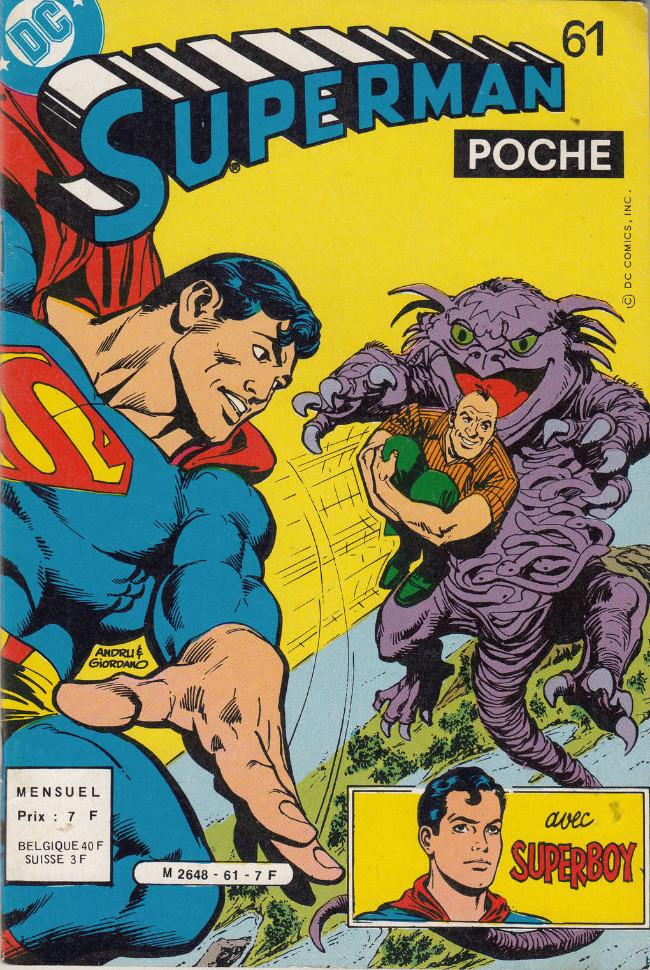 Couverture de Superman (Poche) (Sagédition) -61- La clandestine des étoiles