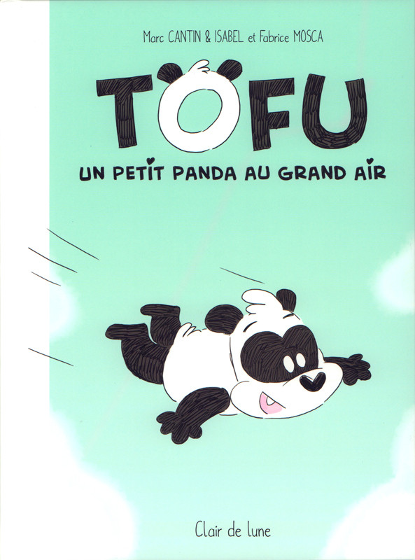 Couverture de Tofu - Un petit panda au grand air
