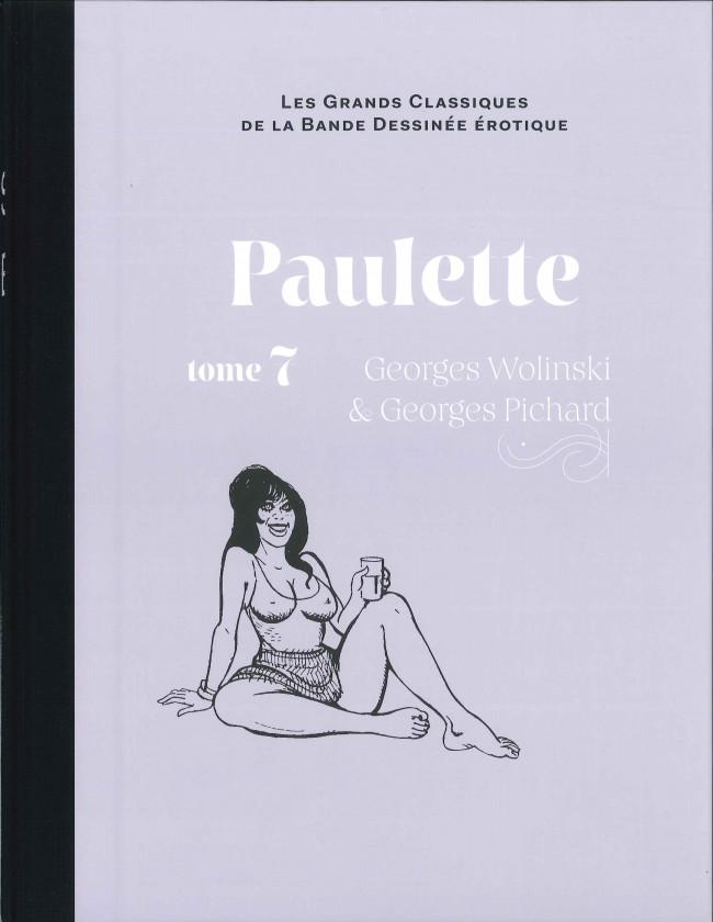 Couverture de Les grands Classiques de la Bande Dessinée érotique - La Collection -8663- Paulette - Tome 7