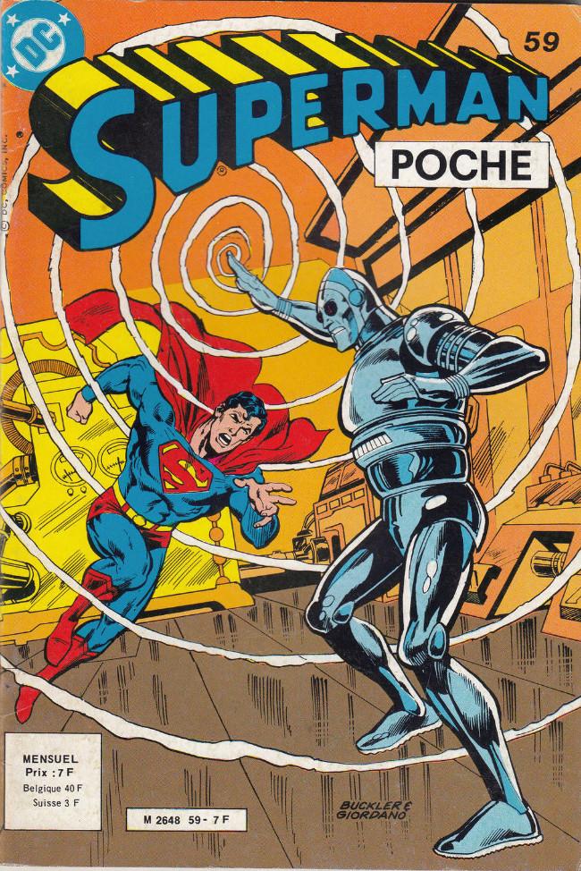 Couverture de Superman (Poche) (Sagédition) -59- L'homme-horlogerie