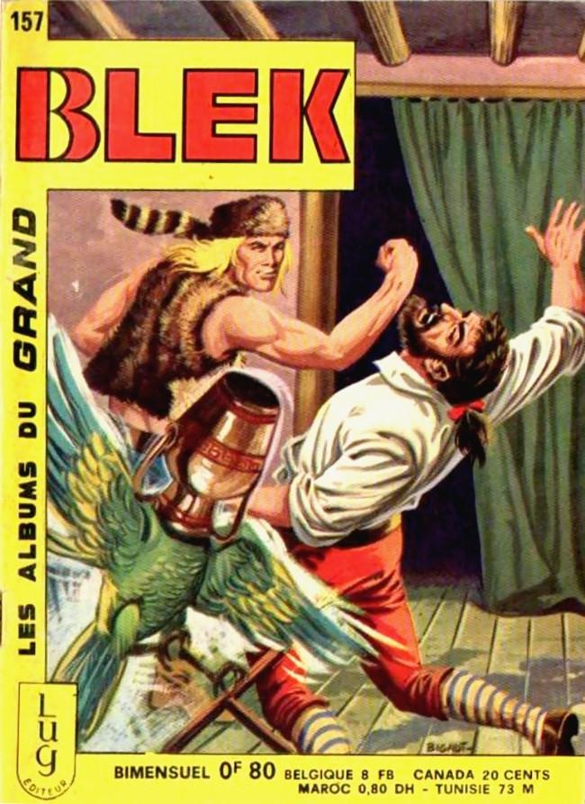 Couverture de Blek (Les albums du Grand) -157- Numéro 157