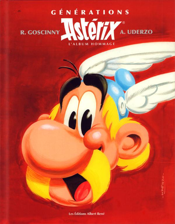 Couverture de Astérix (Hors Série) - Générations Astérix - L'Album hommage