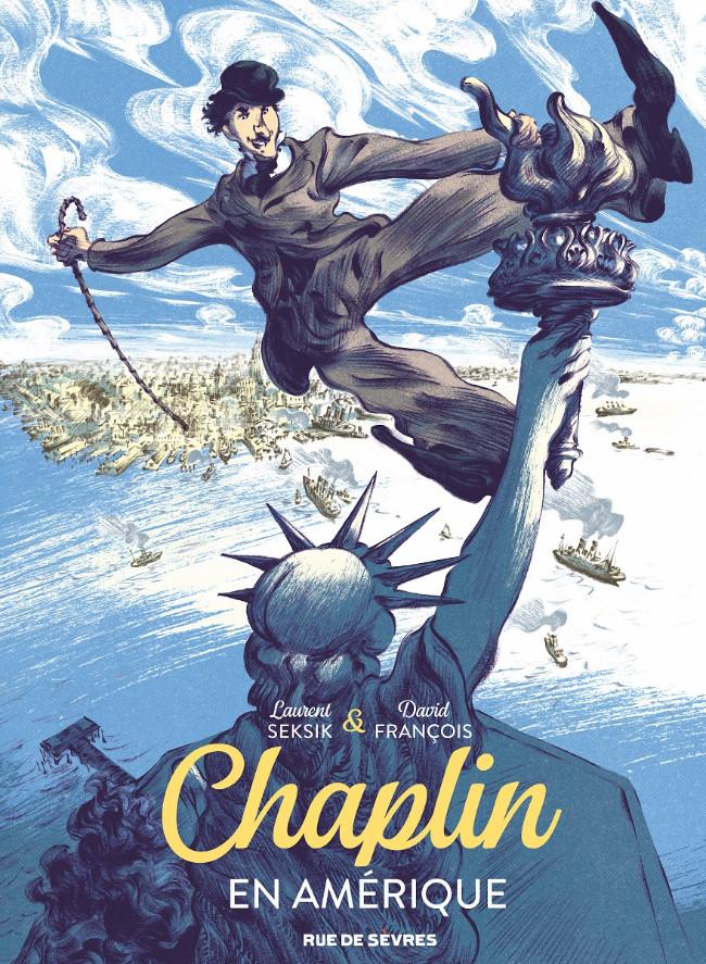 Couverture de Chaplin en Amérique -1- tome 1