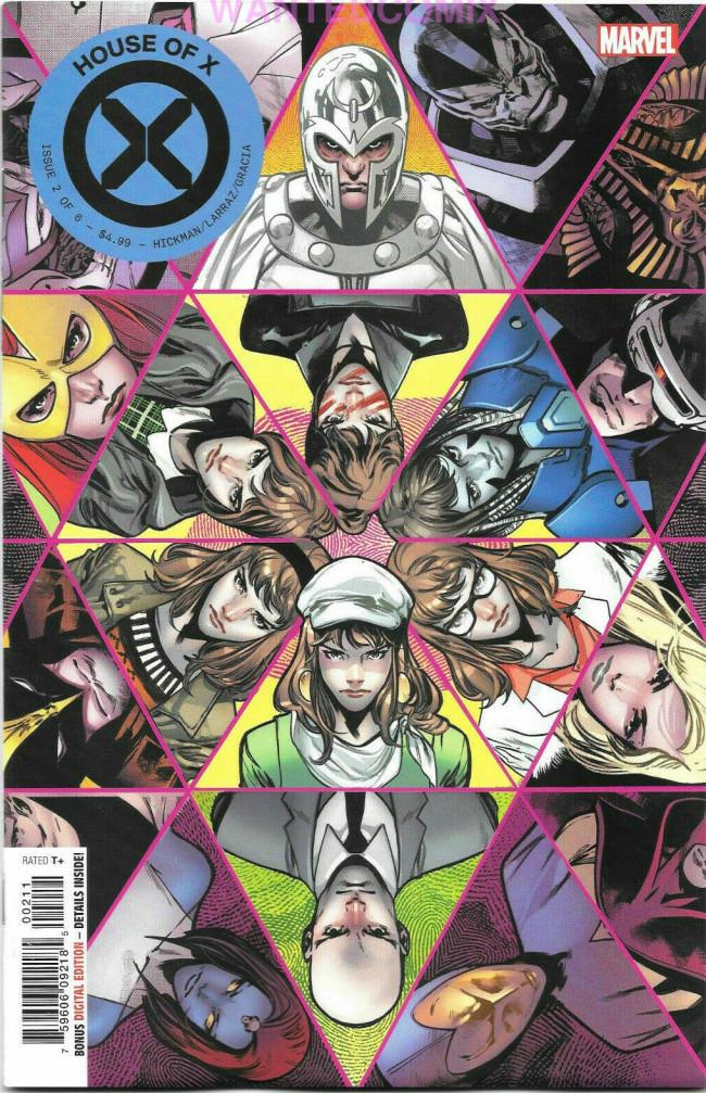 Couverture de House of X (Marvel comics - 2019) -2- The Uncanny Life of Moira X