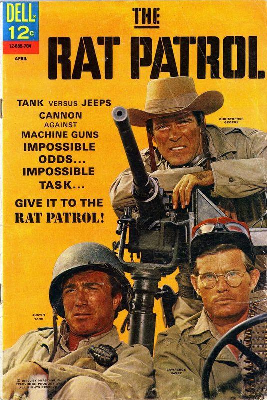 Couverture de Rat Patrol (The) (1967) -2- (sans titre)