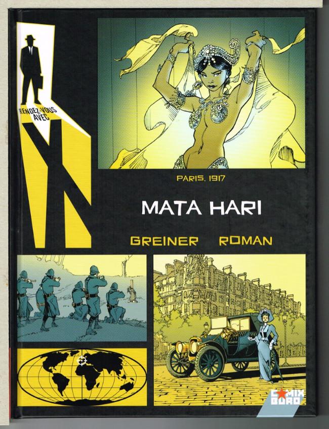 Couverture de Rendez-vous avec X -3- Mata Hari