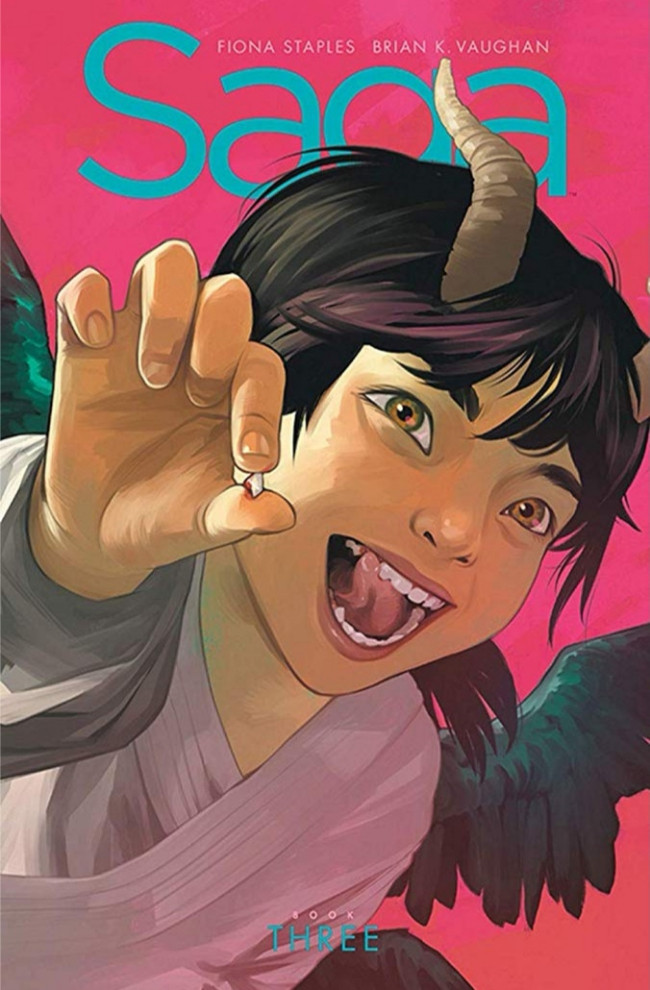 Couverture de Saga (Image comics - 2012) -INTHC03- Book Three