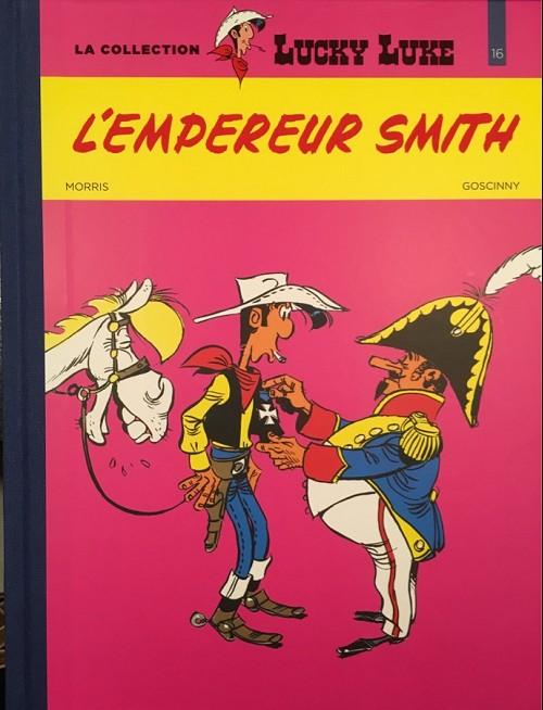 Couverture de Lucky Luke - La collection (Hachette 2018) -4516- L'empereur smith