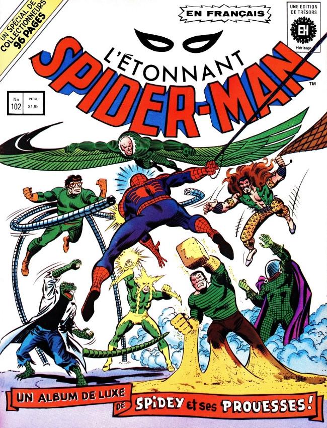 Couverture de L'Étonnant Spider-Man (Éditions Héritage) -HS- L'étonnant Spider-Man