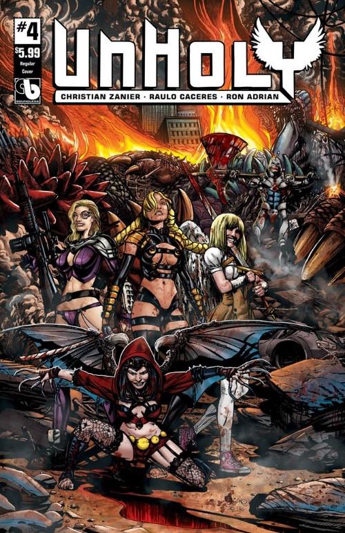 Couverture de Unholy -4- Issue 4