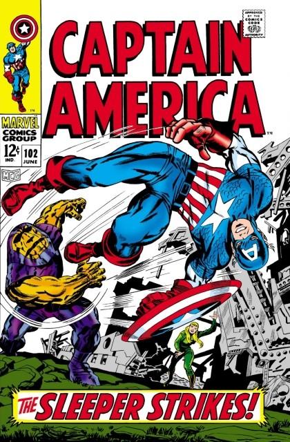 Couverture de Captain America (Marvel comics - 1968) -102- The sleeper strikes