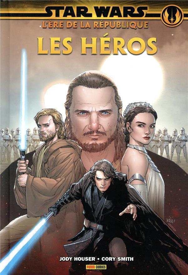Couverture de Star Wars - L'ère de la République -1- Les Héros