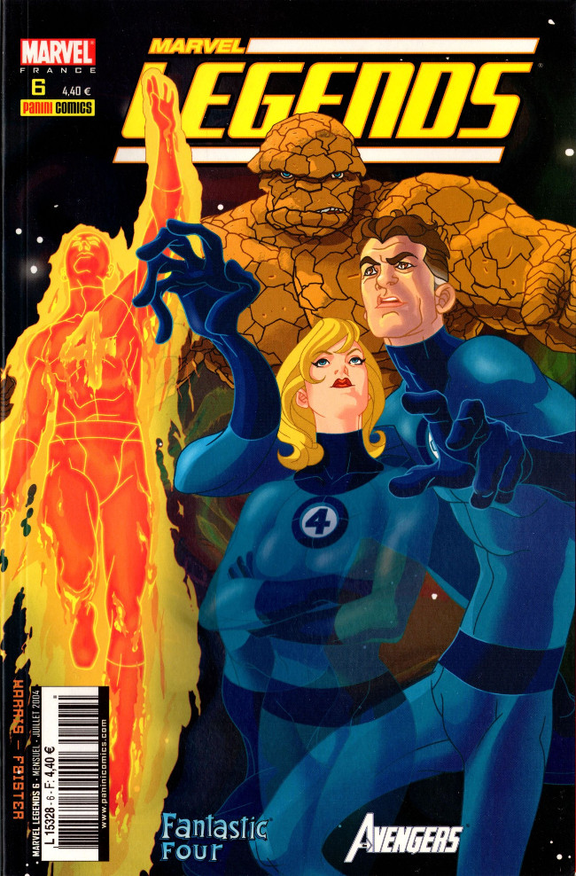 Couverture de Marvel Legends -6- Coup de force (1)