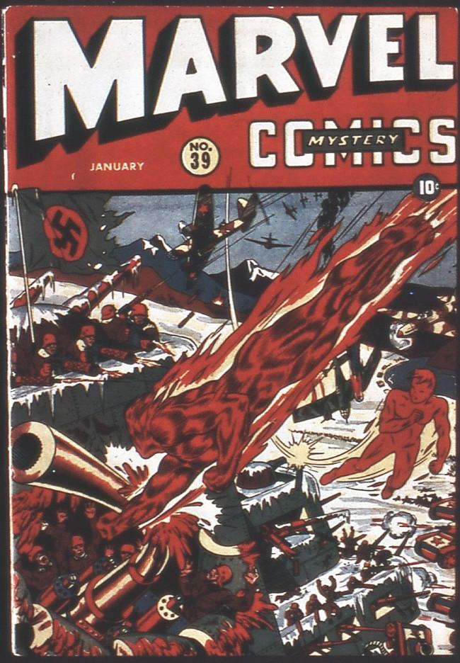 Couverture de Marvel Mystery Comics (Timely - 1939) -39- (sans titre)