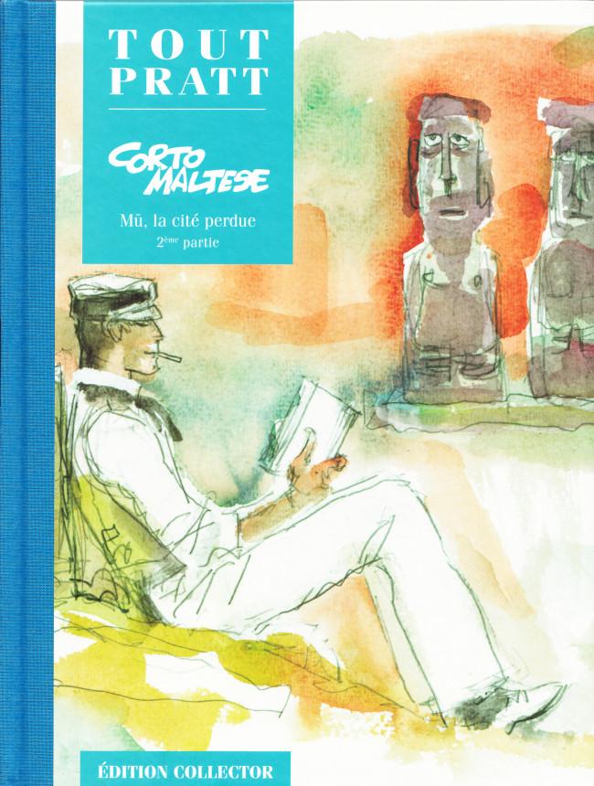 Couverture de Tout Pratt (collection Altaya) -18- Corto Maltese - Mû, la cité perdue - 2ème partie
