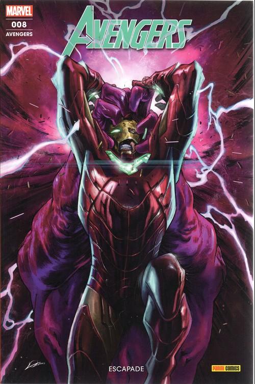 Couverture de Avengers (Marvel France - 2019) -8- Escapade