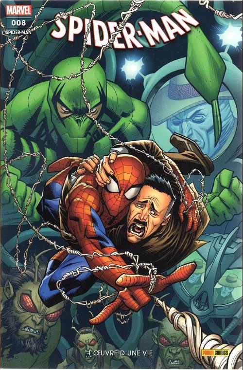 Couverture de Spider-Man (Marvel France 7e série) -8- L'œuvre d'une vie