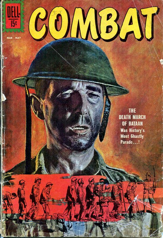 Couverture de Combat (1961) -3- The death march of Bataan