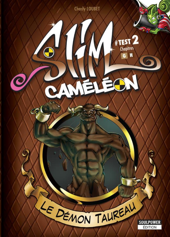 Couverture de Slim Caméléon -2- Le démon Taureau