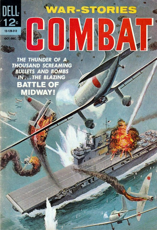 Couverture de Combat (1961) -10- Battle of Midway