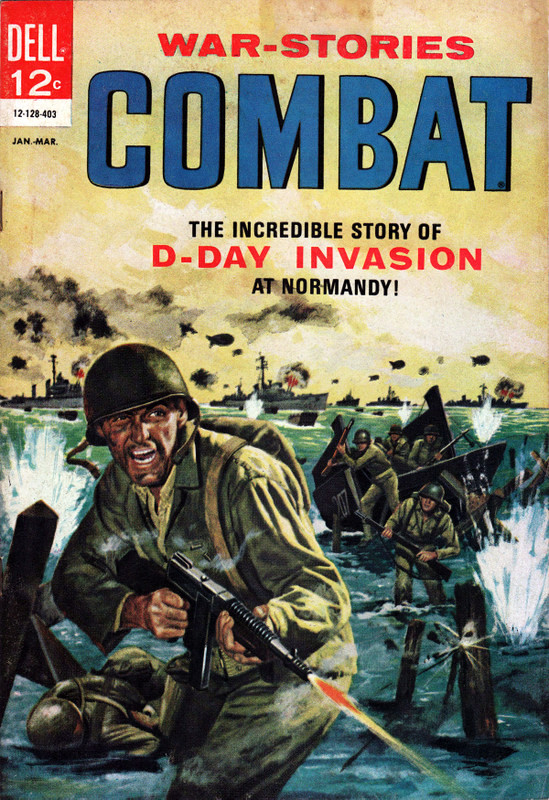 Couverture de Combat (1961) -11- The Incredible Story of D-Day Invasion at Normandy!