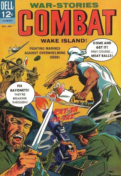 Couverture de Combat (Dell - 1961) -18- (sans titre)