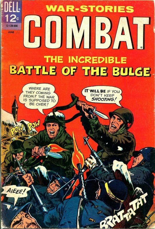 Couverture de Combat (Dell - 1961) -20- Battle of the Bulge