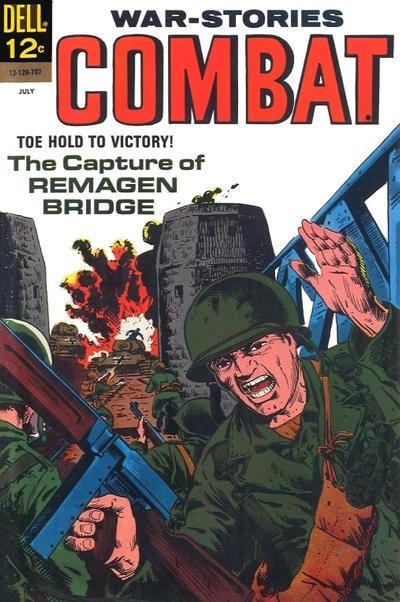 Couverture de Combat (Dell - 1961) -25- The Capture of Remagen Bridge