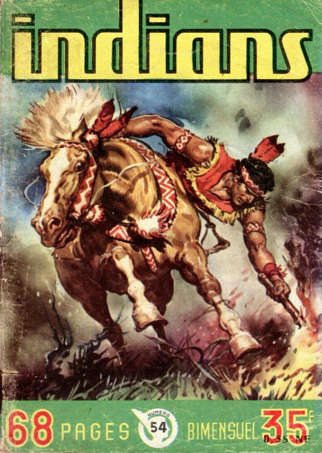 Couverture de Indians -54- Aigle Rouge : Quand l'Aigle se venge